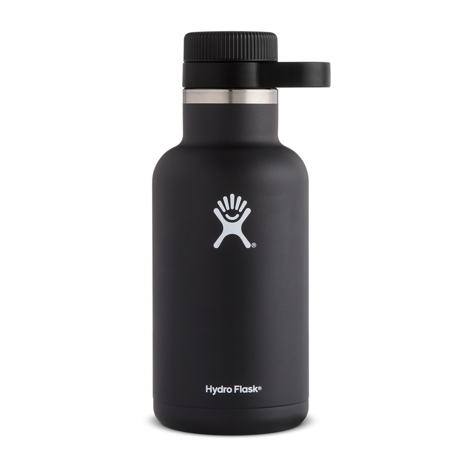 Hydro Flask 64oz Beer Growler Black