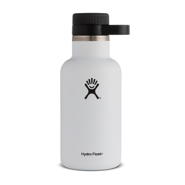 Hydro Flask 64oz Beer Growler White