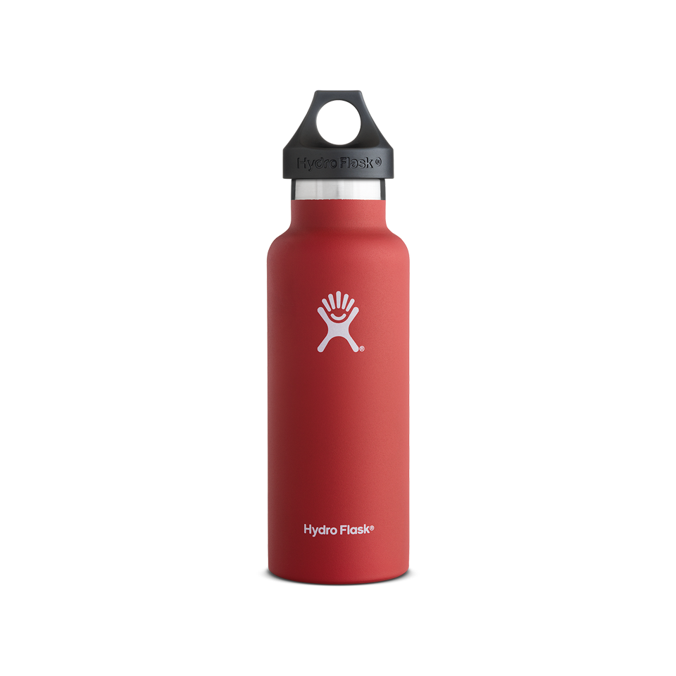 Hydro Flask 18oz Standard Mouth Lava