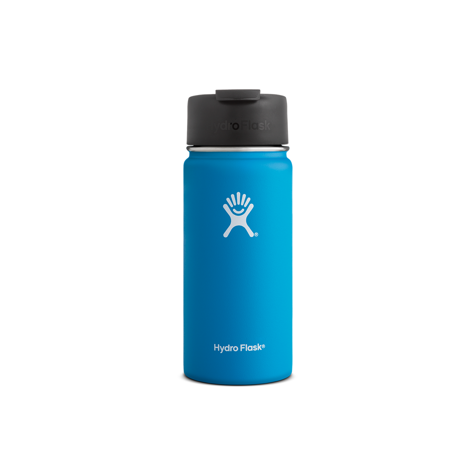 Hydro Flask 16oz Wide Mouth Flip Lid Pacific