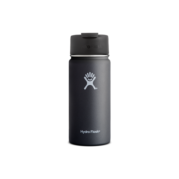 Hydro Flask 16oz Wide Mouth Flip Lid Black