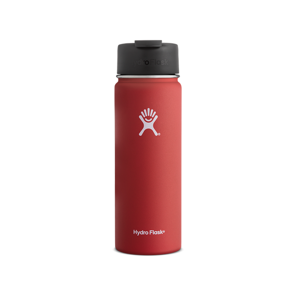 Hydro Flask 20oz Wide Mouth Flip Lid Lava