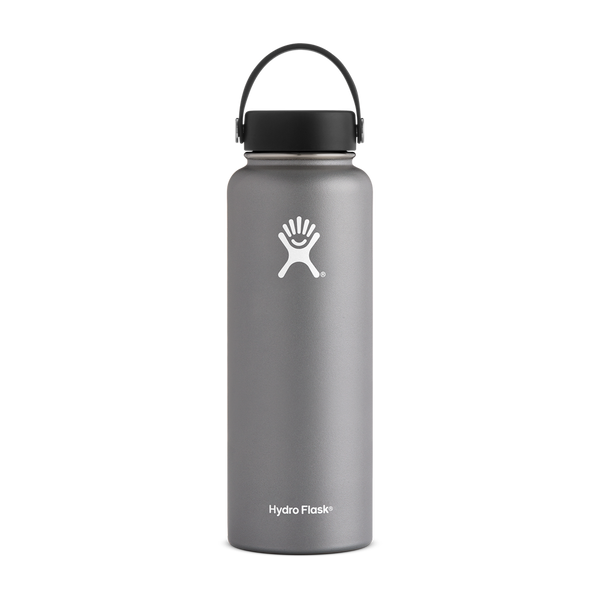 Hydro Flask 40oz Wide Mouth Graphite