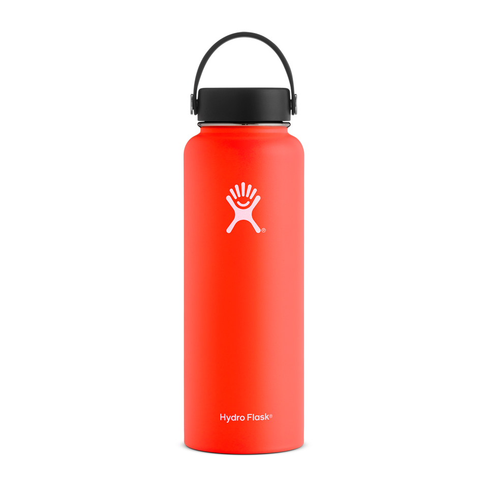 Hydro Flask 40oz Wide Mouth Tangelo