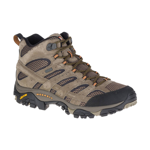Merrell Men's Moab 2 Mid Waterproof Walnut