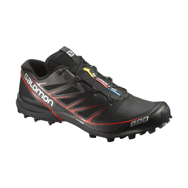 Salomon Men's S-Lab Speed Black/Racing Red
