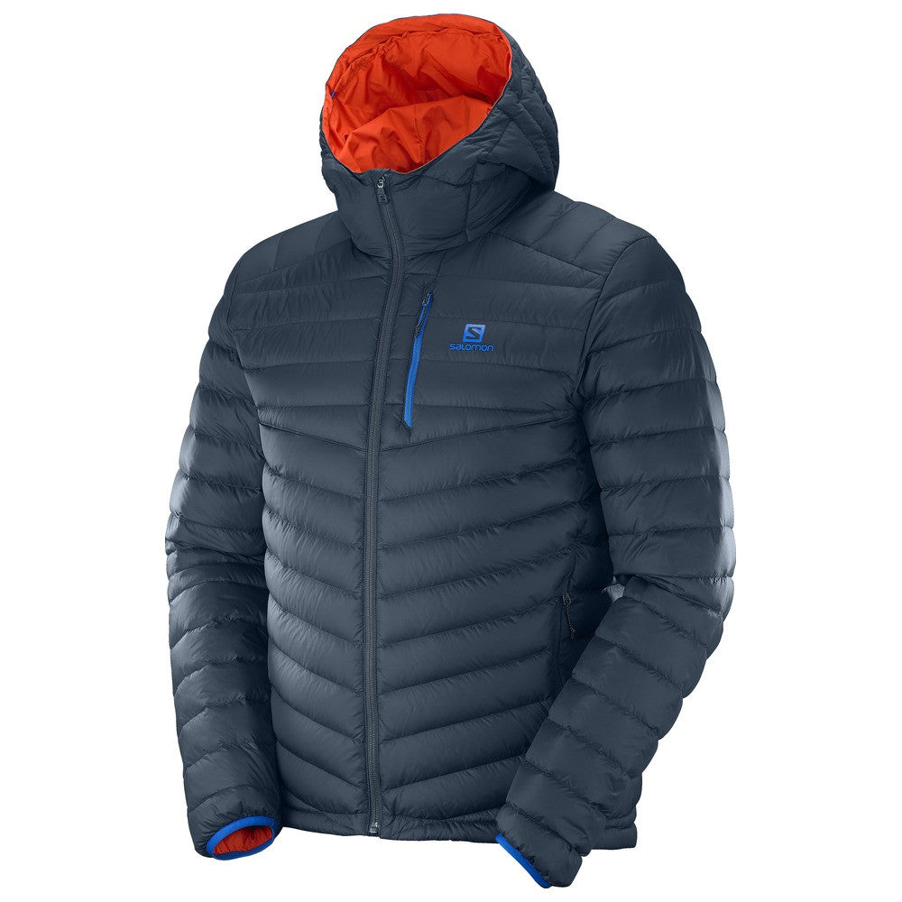 0aca1b5ae46f Salomon Men s Halo Down Jacket Big Blue - Play Stores Inc