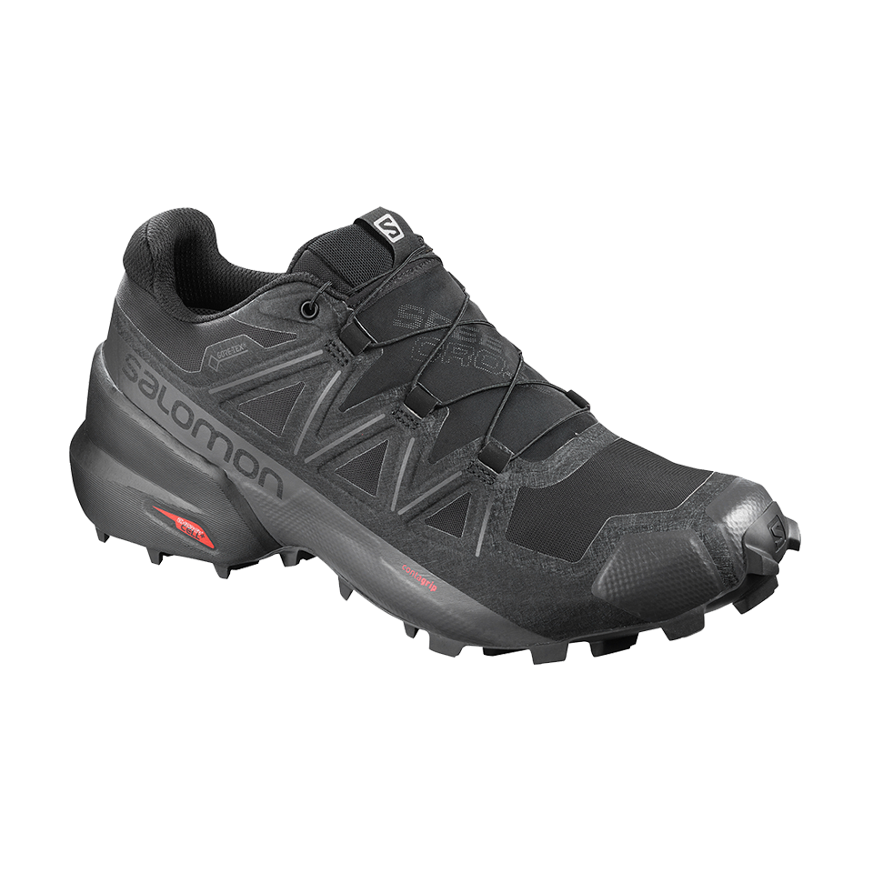Salomon Men's Speedcross 5 GTX Black/Black