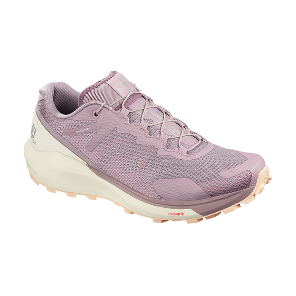 Salomon Women's Sense Ride 3 Quail/Vanilla