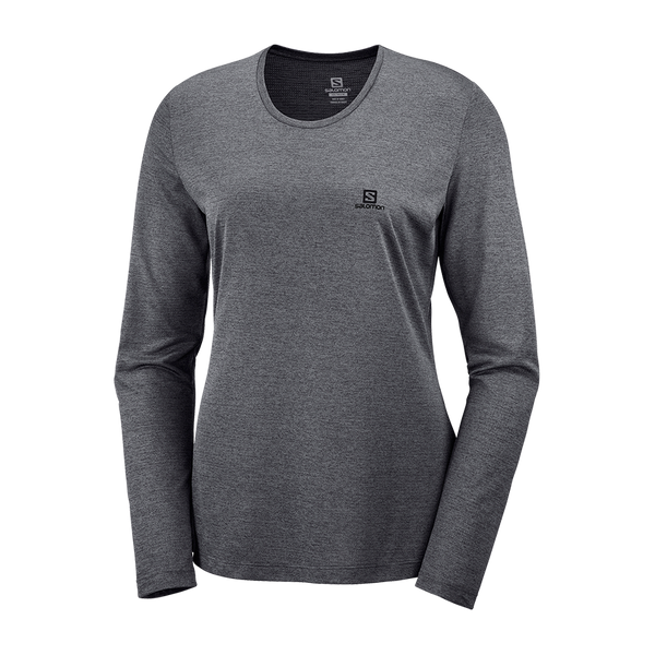 Salomon Women's Agile LS Tee Ebony