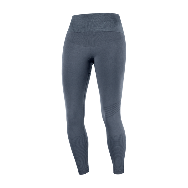 Salomon Women's Essential Move On Seamless Tight Ebony