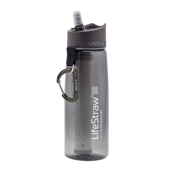 LifeStraw Go Water Filter Bottle With Filter Grey