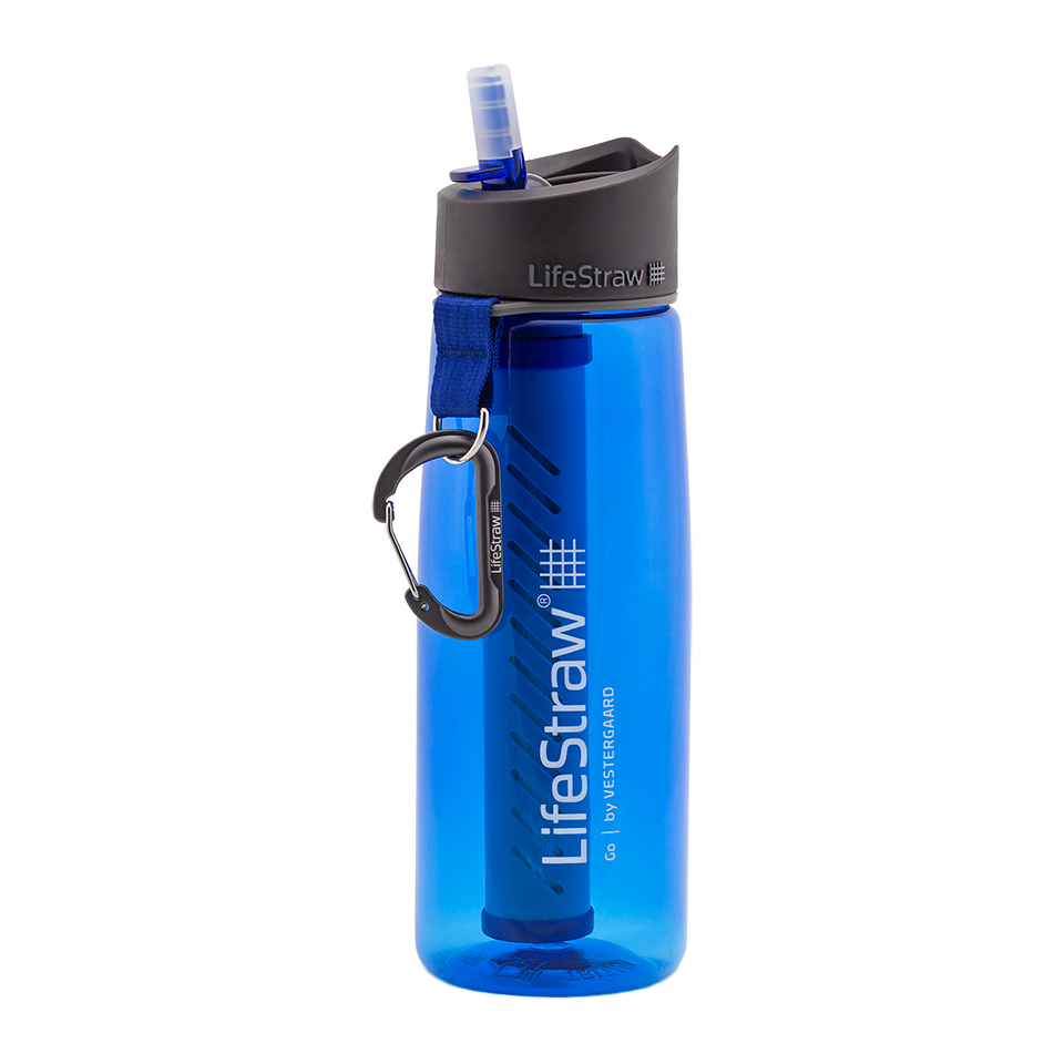 LifeStraw Go Water Filter Bottle With Filter Blue