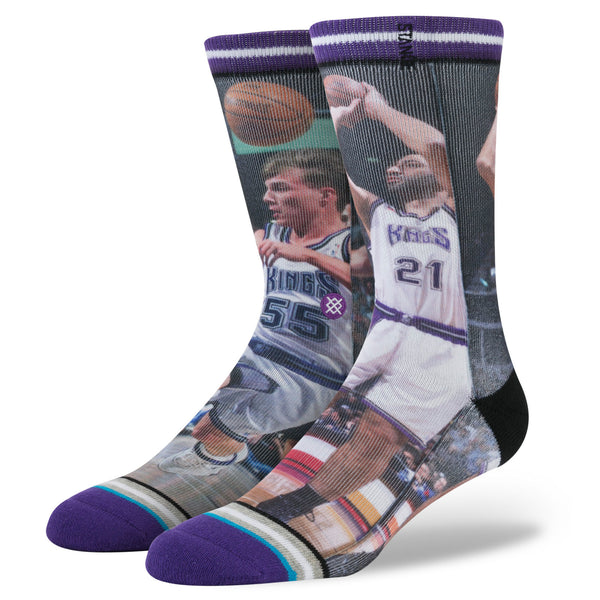 Stance Men's NBA Divac/ Williams Purple
