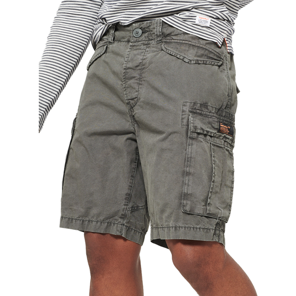 Superdry Men's Core Lite Ripstop Cargo Short Grey