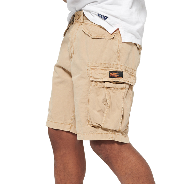 Superdry Men's Core Lite Ripstop Cargo Short Beige