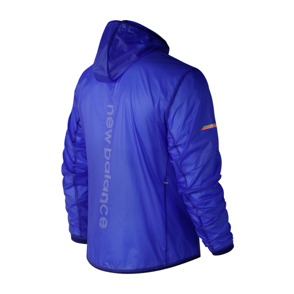 d9bfdfe361288 New Balance Men's Ultra Light Packable Jacket Pacific Blue - Play Stores Inc