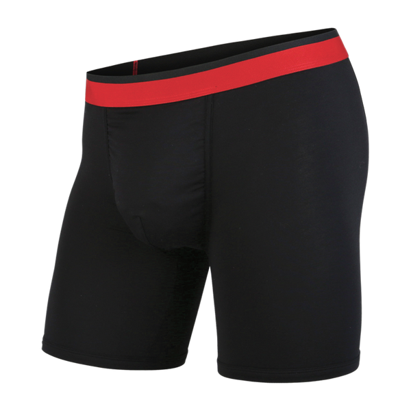 BN3TH Men's Classic Boxer Brief Black/Red