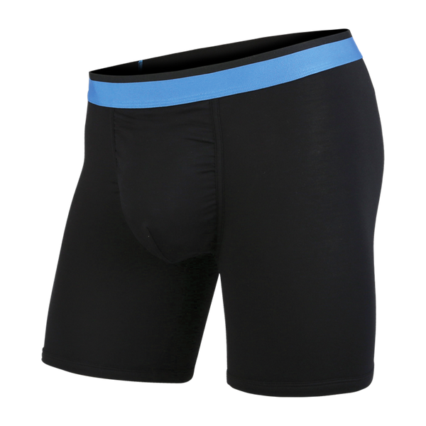BN3TH Men's Classic Boxer Brief Black/Blue