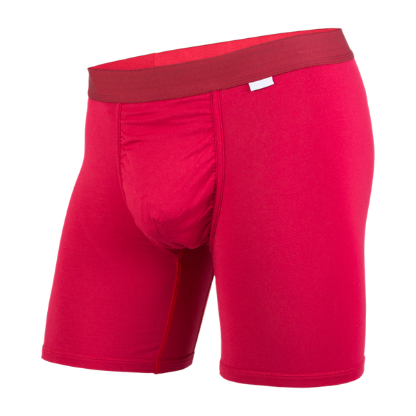 BN3TH Men's Classic Boxer Brief Crimson