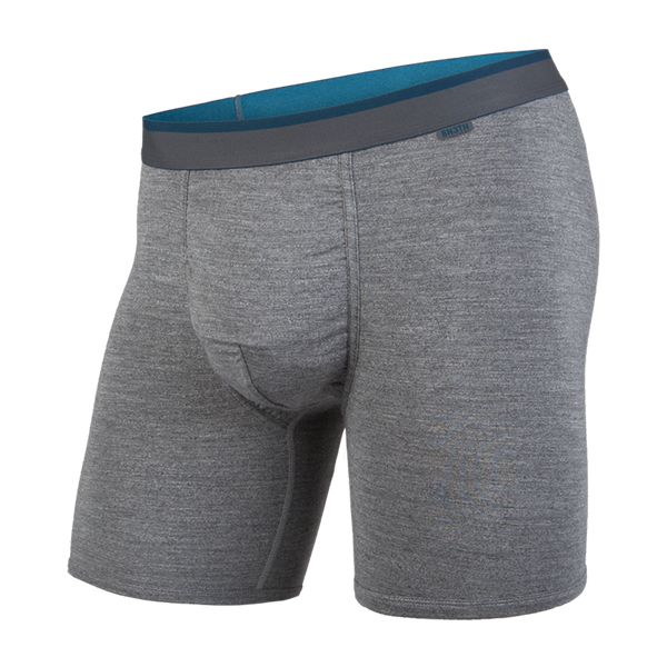 BN3TH Men's Classic Boxer Brief Charcoal Heather/Ink