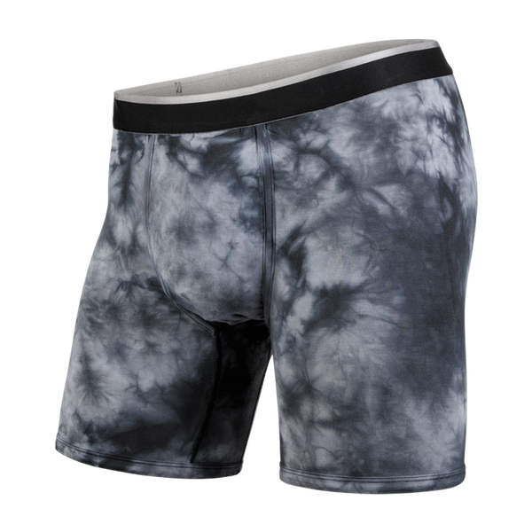 BN3TH Men's Classic Boxer Brief Shibori Black