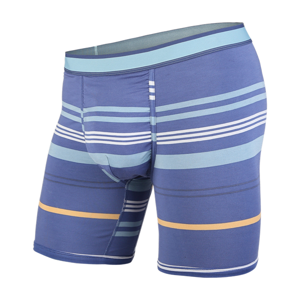 BN3TH Men's Classic Boxer Brief Sydney Harbour Stripe