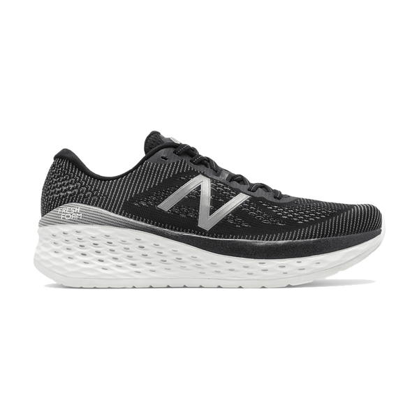 New Balance Men's Fresh Foam More D Width Black/White