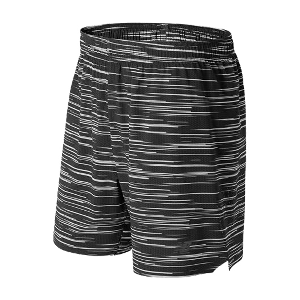 "New Balance Men's 7"" Shift Short Black/Grey"