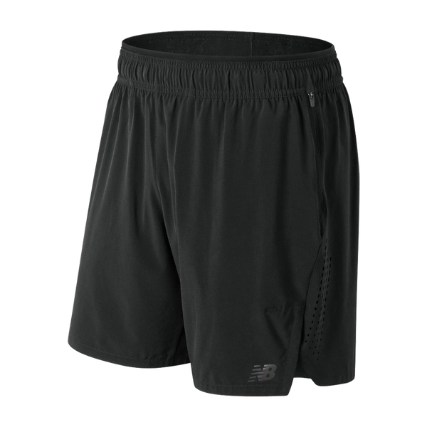 New Balance Men's Transform 2-in-1 Short Black