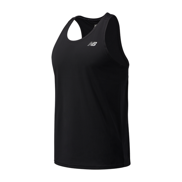 New Balance Men's Accelerate Singlet Black