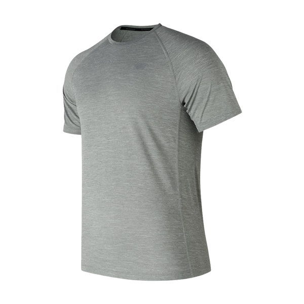 New Balance Men's Tenacity Short Sleeve Athletic Grey