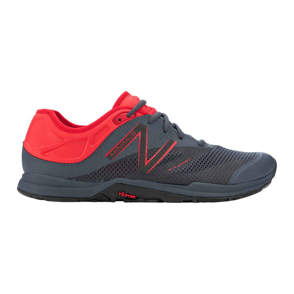 New Balance Men's Minimus 20v5 Black/Red