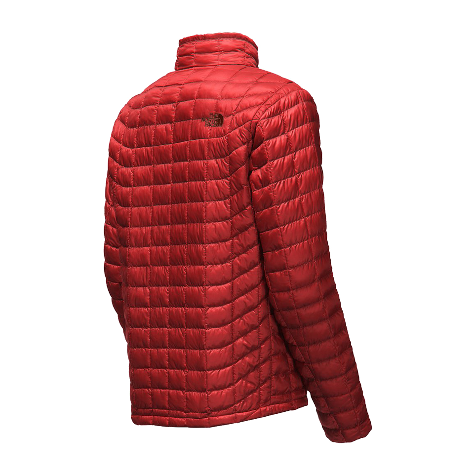 The North Face Men's Thermoball Full Zip Jacket Cardinal Red