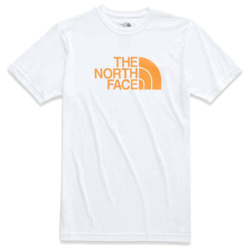aeac17425 The North Face Men's S/S Tri-Blend Half Dome Tee White Heather