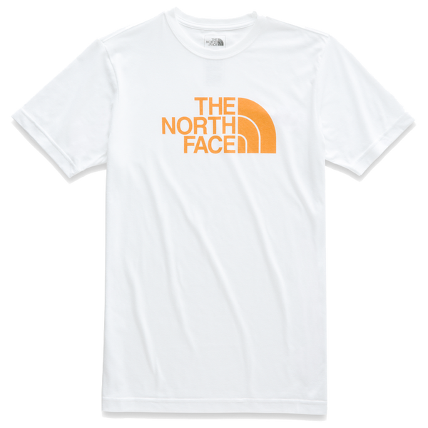 The North Face Men's S/S Tri-Blend Half Dome Tee White Heather