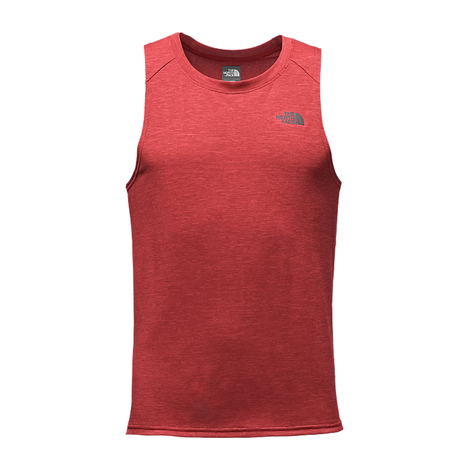 The North Face Men's Ambition Tank Cardinal Red Heather