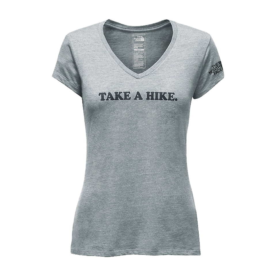 The North Face Women's Take a Hike Tee Light Grey Heather