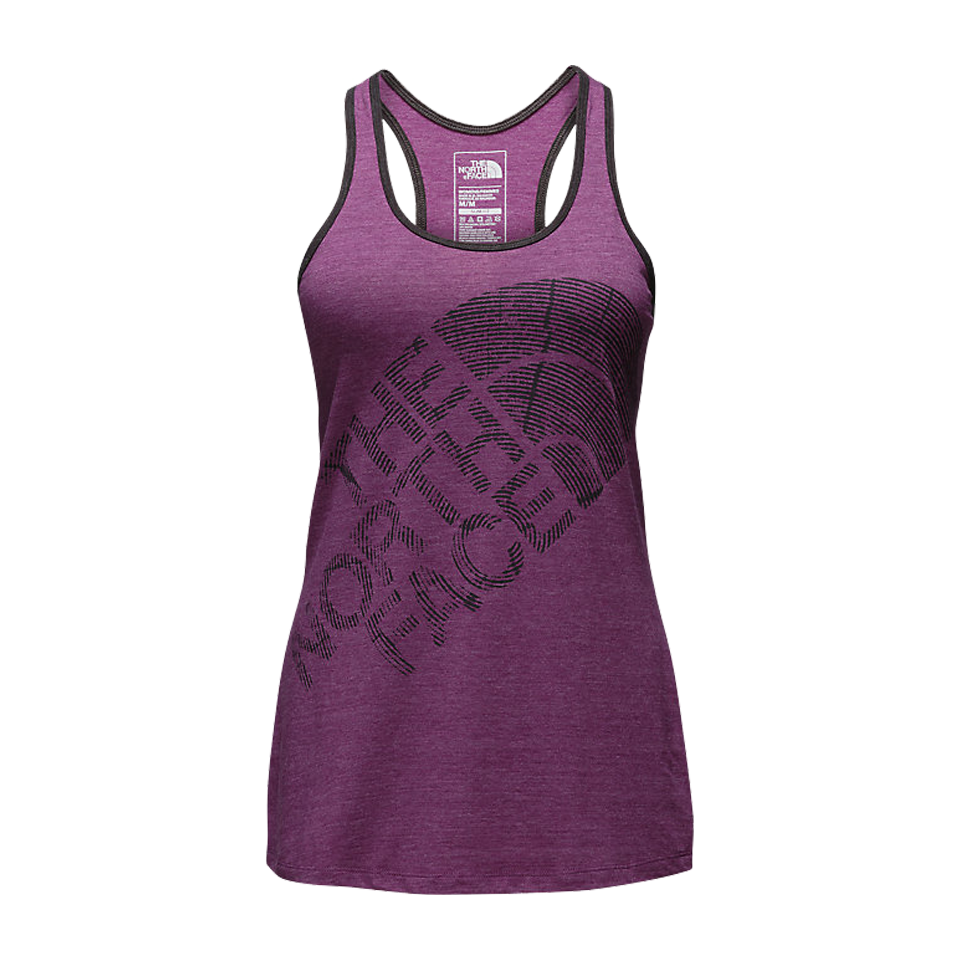The North Face Women's Play Hard Tank Wood Violet Heather