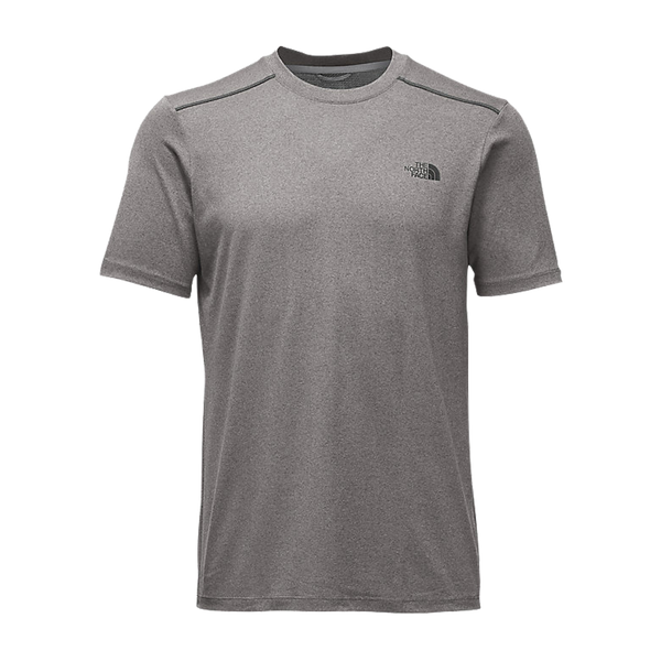 The North Face Men's Reactor Short Sleeve Crew Medium Grey Heather