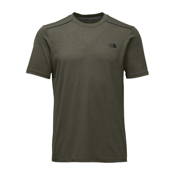 The North Face Men's Reactor Short Sleeve Crew Grape Leaf Heather