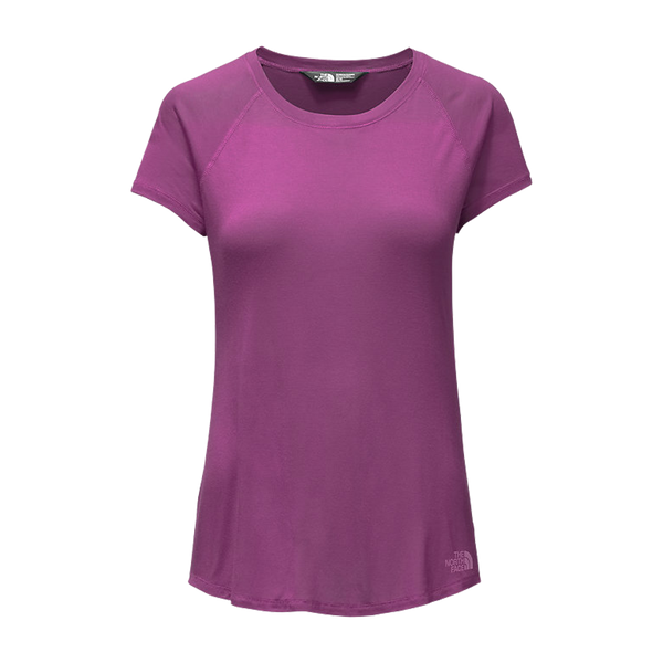 The North Face Women's Versitas Short Sleeve Top Wood Violet