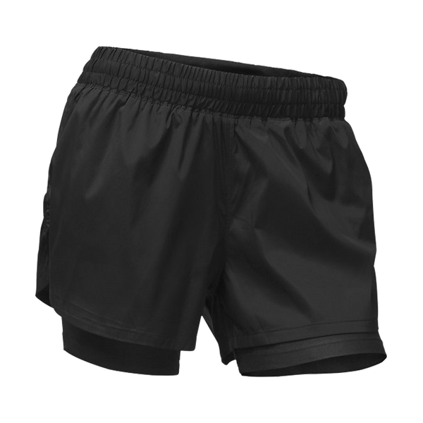 "The North Face Women's 4"" Core 2 in 1 Short Black"