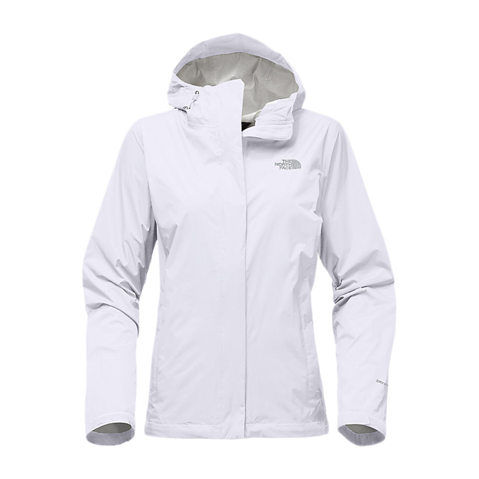 b52d21a18e The North Face Women s Venture 2 Jacket White - Play Stores Inc