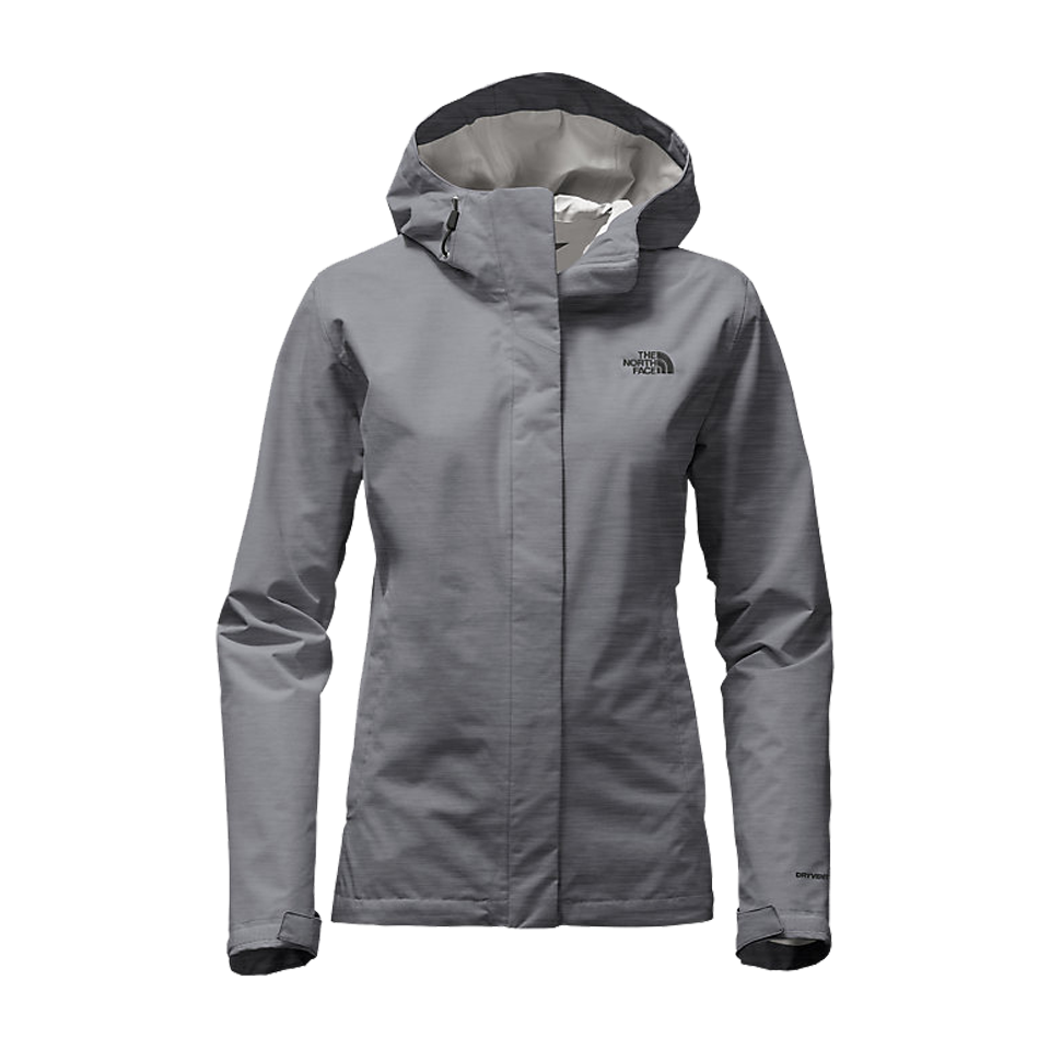 390167664a The North Face Women s Venture 2 Jacket Medium Grey Heather - Play ...
