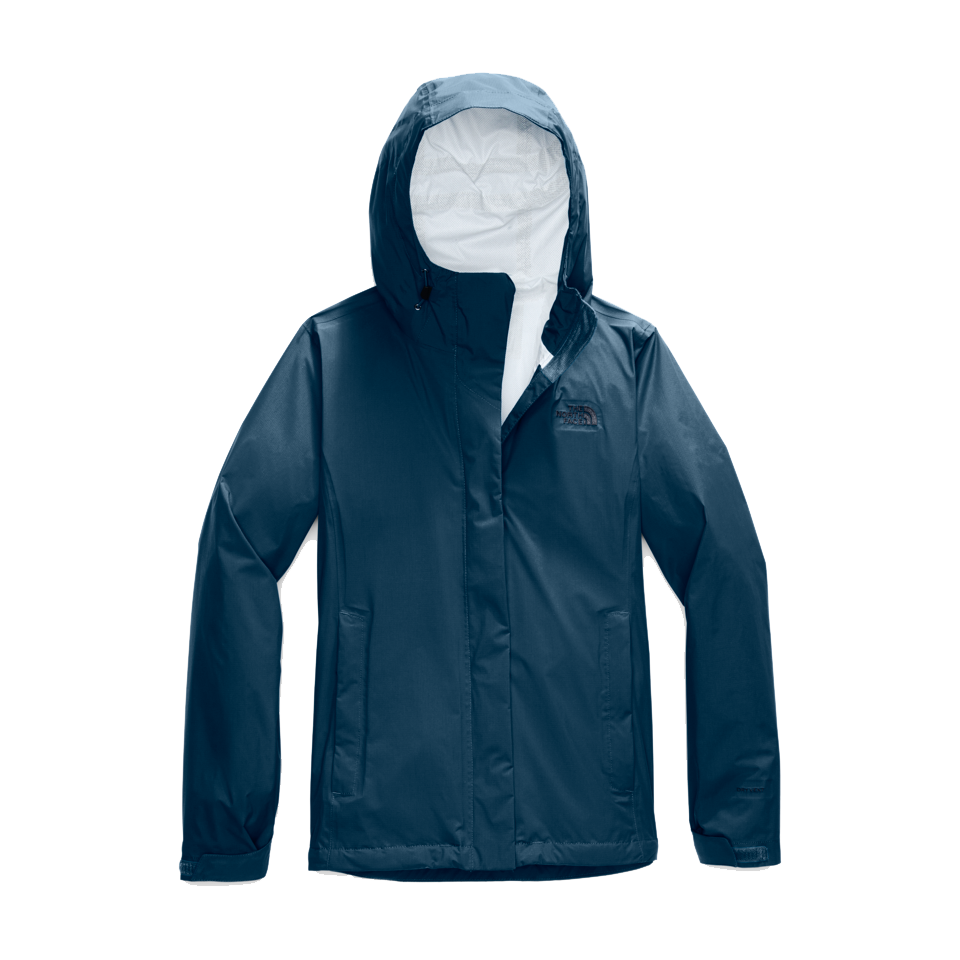 The North Face Women's Venture 2 Jacket Blue Wing Teal