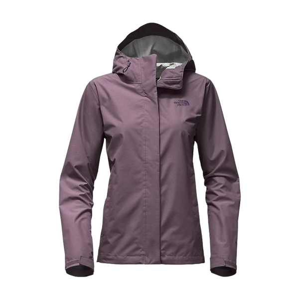 The North Face Women's Venture 2 Jacket Black Plum Heather