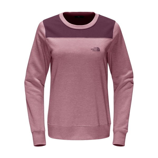 The North Face Women's Pinky Fleece Crew Foxglove Pink