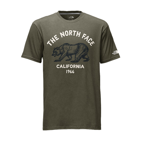 The North Face Men's ShortSleeve Reborn Roamer Tee Burnt Olive Green
