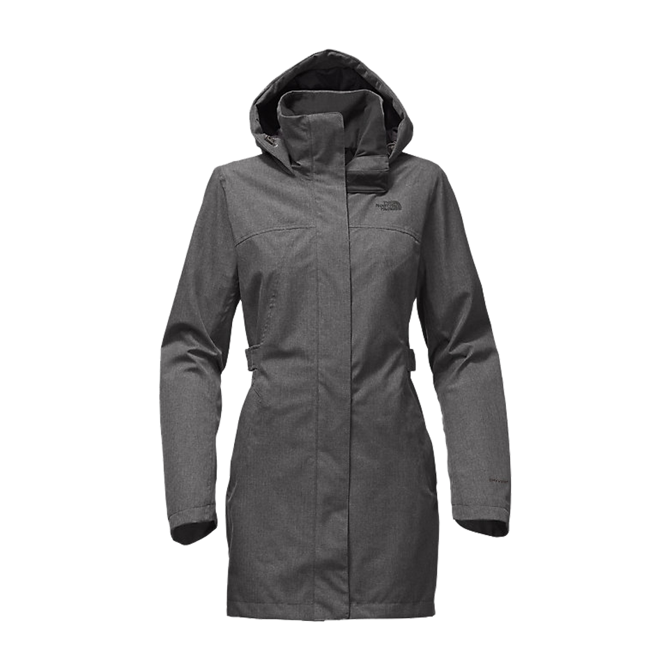 f044472f9 The North Face Women's Laney Trench II Medium Grey Heather